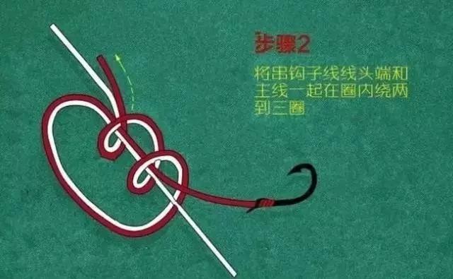 串钩怎么绑方法图解 串钩不缠绕最佳绑法